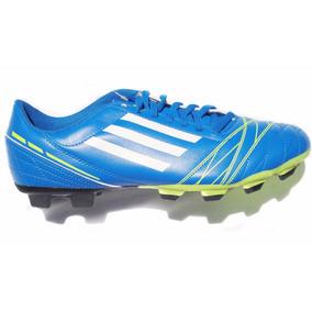 Chuteira Adidas - Chuteiras Adidas de Campo para Adultos Azul no ... 57e7cdcab7a46