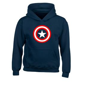 Sudadera Capitan America Captain America Niño Niña