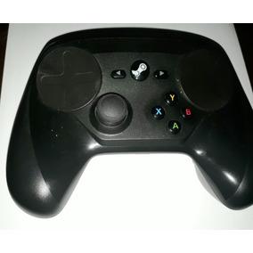 Controle Steam Original Preto Usado Completo