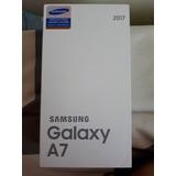 Samsung A7 2017 Negro Nuevo