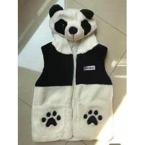 Chaleco Panda Para Niña Talla 10