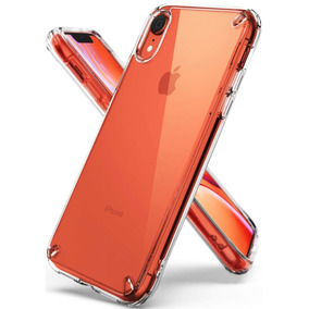 Kit Funda Iphone Xr - Ringke Fusion + Strap + Slot Card Case