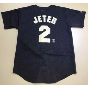 Camiseta Beisbol Derek Jeter New en Mercado Libre México 275b4dcc7ca