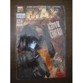 Hq Marvel Max 81 - Panini