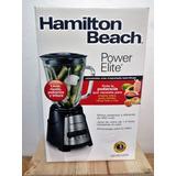 Licuadora Hamilton Beach Negra Power Elite Con 450 Watts