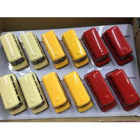 Kit Caixa Miniatura Ônibus Nysa Com 12 Unidades