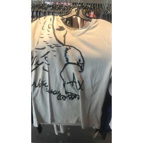 a46306c7309 X Armani Exchange Camisa Manga Larga Original Certificado A - Ropa ...