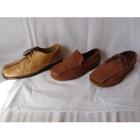e5e167c0a5c Lote 6 Pares De Sapato Masculino De Couro Numeração 42 E 43