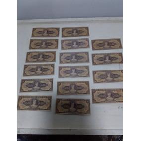 Cédulas Antigas - Cinquenta Cruzeiros - Lote C/ 16 Cédulas