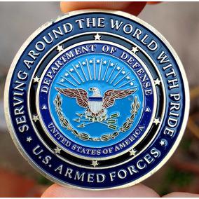 Poker Card Guard - Forças Armadas Us - Medalha Moeda