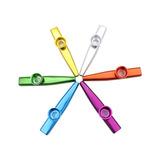 Flauta Kazoo Aleación De Aluminio 5 Piezas