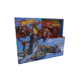 Pista Dragon Explosivo Hot Wheels.