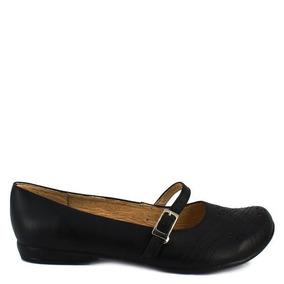 Zapato Escolar Piel Negro Num 24 Mx Felipe Rentaria