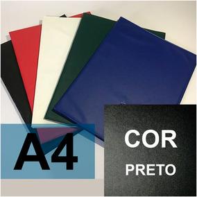 Pasta Catálogo 50 Plast A4 (kit Com 15 Unidades)