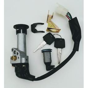 Chave Ignição Contato + Trava Banco Shineray Jet 50cc