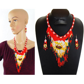Collar Flekito De Chaquira