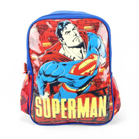 Mochila Infantil Superman Luxcel Is32201sm