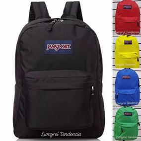 Mochila Jansport Escolar Niña Rosa Azul Negra Verde Roja