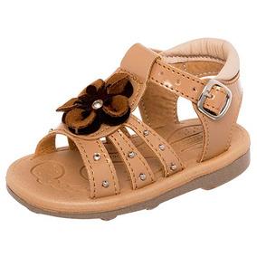 234de456c Zapatos Glamour Rosa Metalico Charol Huaraches - Zapatos para Niñas ...