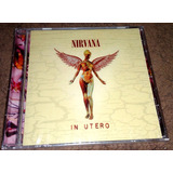 Nirvana - In Utero Cd Importado