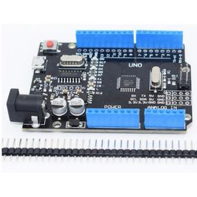 Arduino Uno R3 Microusb Atmega328-au Black Edition S/c Elec