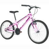 Bicicleta Aro 20 Polimet Mtb - Rosa