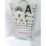 Optotipo De Luz Fijo O Portatil P/examen Visual Y Optica