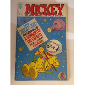 Álbum A Conquista Do Espaço Revista Mickey Abr 1969 Completo