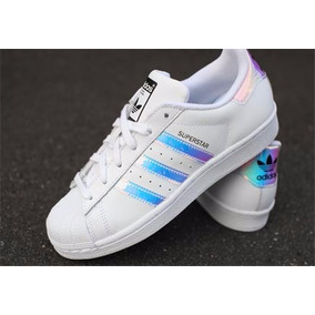 quality design 5bdfd 774f1 Zapatillas adidas Superstar Tornasol Dama