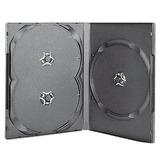 Cajas Multiple Dvd Importada Para 3 Unidades