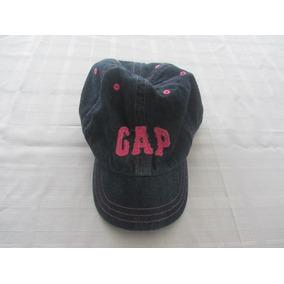 Bonê Infantil Meninas Gap Jeans Bordado - Tamanho 2-5 941985509f9
