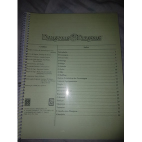 Manual Dungeons & Dragons Rpg Da Grow