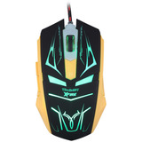 Mouse Gamer 3200 Dpi 7 Botoes Xfire Led Verde Tecdrive Neith