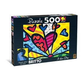 Quebra Cabeça 500 Peças Romero Britto - A New Day