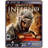 Ps3 Dantes Inferno | Original Mídia Digital