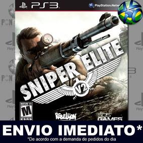 Ps3 Sniper Elite V2 Psn Mídia Digital Promoção Envio Agora