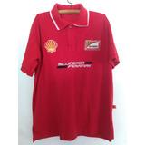 Camisa Polo Scuderia Ferrari Original Gola Dupla