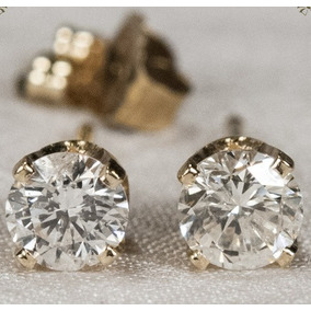 Brinco Diamante 0,50 Pontos - Joias e Relógios no Mercado Livre Brasil f11a5fec33
