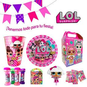 Fiesta Lol Surprise Vasos Dulceros Platos Invitaciones Lol!