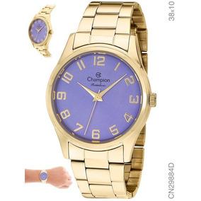 e98116f7574 Relogio Champion Kit Dourado Atacado - Relógios De Pulso no Mercado ...