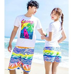 2d06023a5a Mujeres Playa Pantalones Cortos Hombres Natación Oleaje Pan