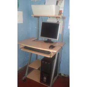 Computador De Escritorio Completo Con Mesa E Impresora