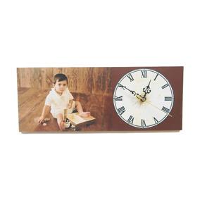 Foto-reloj Personalizado De 6x16 Pulgadas