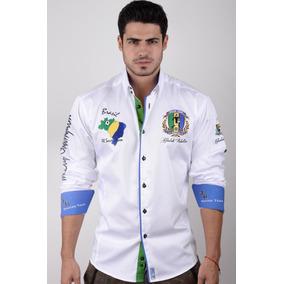 Camisa Absolute Rebellion Brasil Polo Blanco