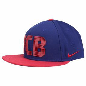 Bone Aba Reta Nike Barcelona - Bonés Nike para Masculino no Mercado ... 7d268c95e10