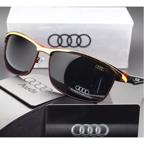 92ad5984e7d34 Óculos De Sol Audi Edição Especial - Aviador Esporte - Red §