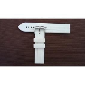 Pulseira Emporio Armani Borracha Branca 22mm