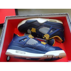 Tênis Nike Air Jordan 4 Retro 4 Navy - Lebron - Kobe