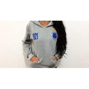 1c5c2f9b94282 Coberto Do Cruzeiro - Moletom Masculinas Azul no Mercado Livre Brasil