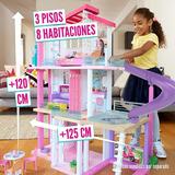 Mansion Casa De Ensueño De Barbie 3 Pisos